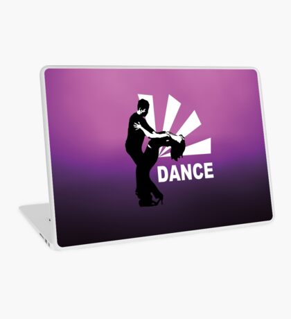 lets dance and have fun Laptop Skin