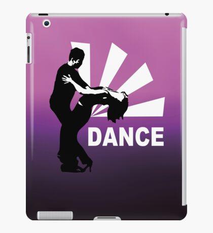 lets dance and have fun iPad Case/Skin