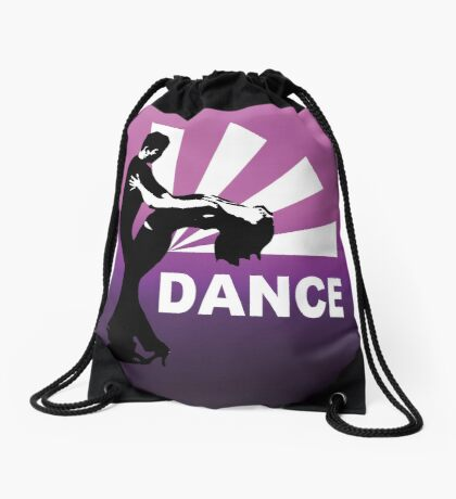 lets dance and have fun Drawstring Bag