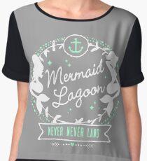 Mermaid Lagoon // Never Land // Peter Pan Chiffon Top