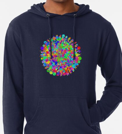Space color splash Lightweight Hoodie