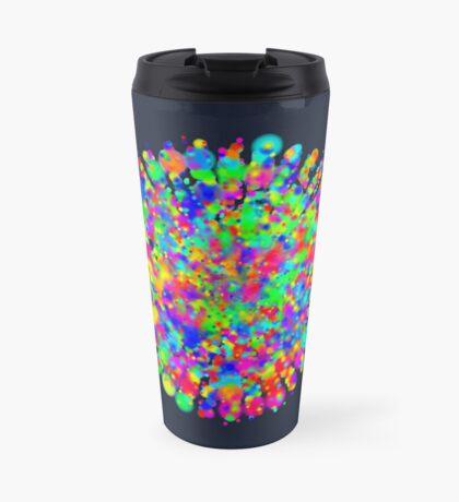 Space color splash Travel Mug