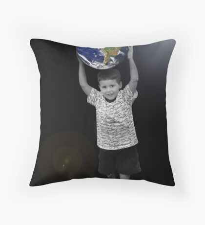 Take the World by Storm Throw Pillow