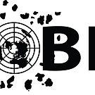 #GLOBEXIT LOGO Stickers (Black) by GLOBEXIT