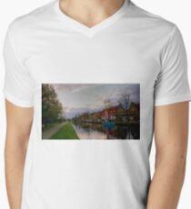 Amsterdam Canal Men's V-Neck T-Shirt