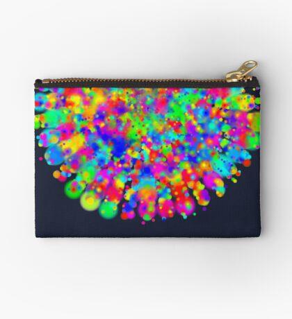 Space color splash Zipper Pouch