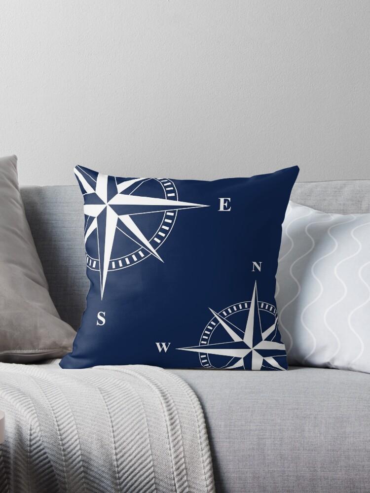Nautischer Stern   Kompass   Maritim   Nautische Dekoration by design-drop