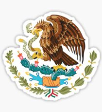 Mexico coat of arms Sticker