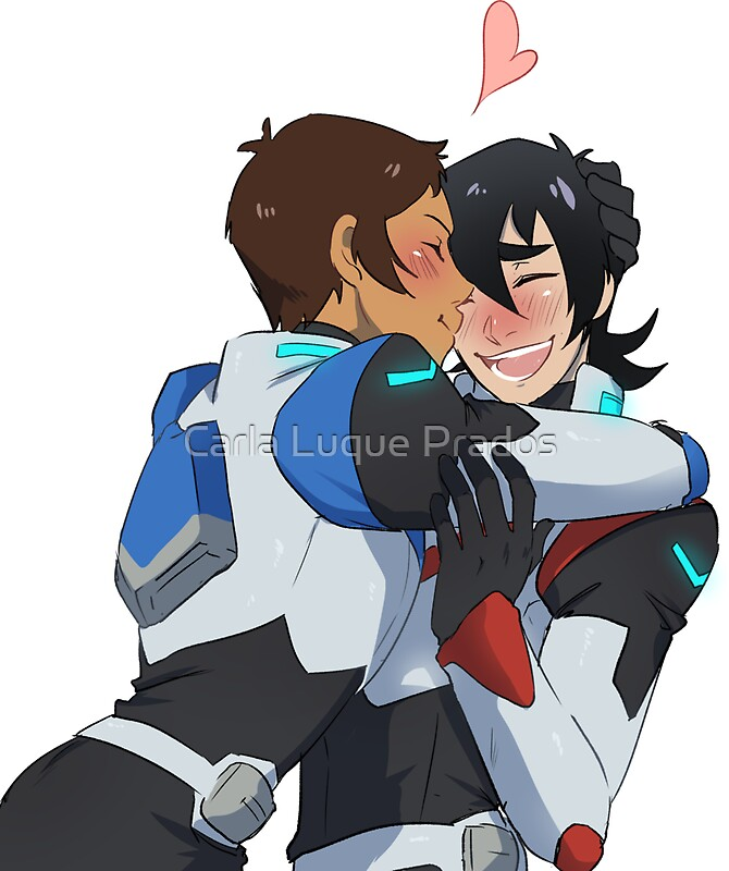 Quot Kiss Klance Voltron Quot Stickers By Kukumomo Redbubble