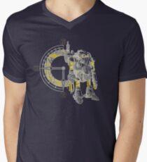 Chrono Robo Mens V-Neck T-Shirt