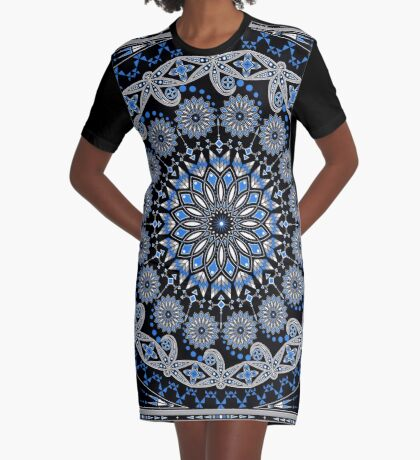 Visit from the Ancestors Graphic T-Shirt Dress