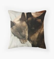 Ain't we a pair? Throw Pillow