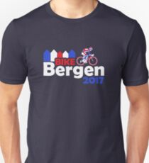 Bike Bergen 2017 commemorative Bicycle Road Race shirt Unisex T-Shirt