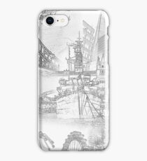 London Icons - Line Drawings iPhone Case/Skin