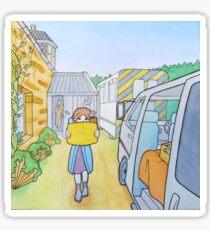Journey to Glen Esk: packing Sticker