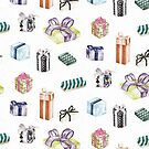 Colour Birthday Pattern by Chrissy Curtin by Chrissy Curtin
