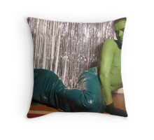 http://www.redbubble.com/green merman Throw Pillow
