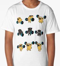 OLYMPIC LIFTING PUGS Long T-Shirt