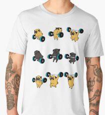 OLYMPIC LIFTING PUGS Men's Premium T-Shirt