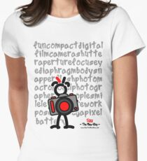 Red - The New Guy - funcompactdigitalcamera .. T-Shirt