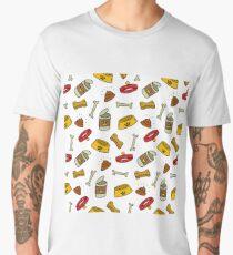 pet shop pattern Men's Premium T-Shirt