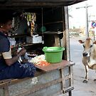 Street cow by David Tovey