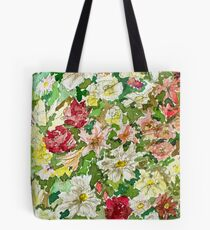 Flowers in Watercolours Tote Bag