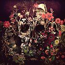 Bloom Skull by Ali Gulec