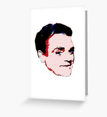 Jimmy Cagney - Pop Art Greeting Card
