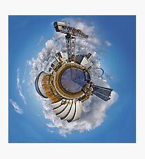 Planet Glasgow Photographic Print