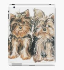 Yorkshire Terrier Puppies iPad Case/Skin