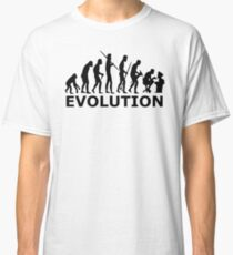 Evolution of Workaholic Classic T-Shirt