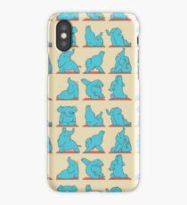 Elephant Yoga iPhone Case/Skin
