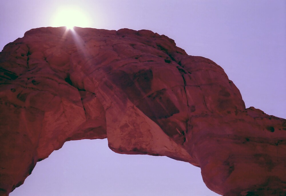 Delicate Arch Abstract by SteveOhlsen