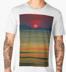 Beach of the Setting Sun Men's Premium T-Shirt