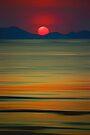 Beach of the Setting Sun by David Alexander Elder