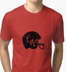 love football baseball american football sports Tri-blend T-Shirt