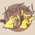 High Five! by MikeDraws