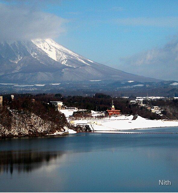 Iwate san by Nith