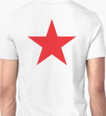 Red Star, STAR, RED, Stardom, Power to the people! Red Dwarf, Stellar, Cosmic T-Shirt