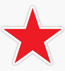 Red Star, STAR, RED, Stardom, Power to the people! Red Dwarf, Stellar, Cosmic Sticker