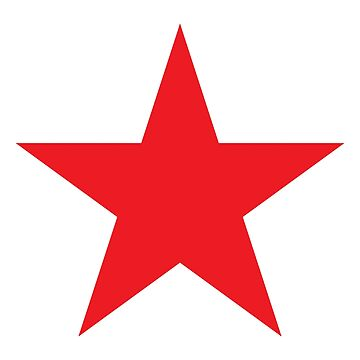 Red Star, STAR, RED, Stardom, Power to the people! Red Dwarf, Stellar, Cosmic by TOMSREDBUBBLE