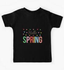 hello spring Kids Clothes