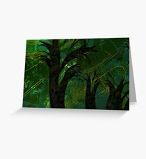 Forest Canopy - high res Greeting Card