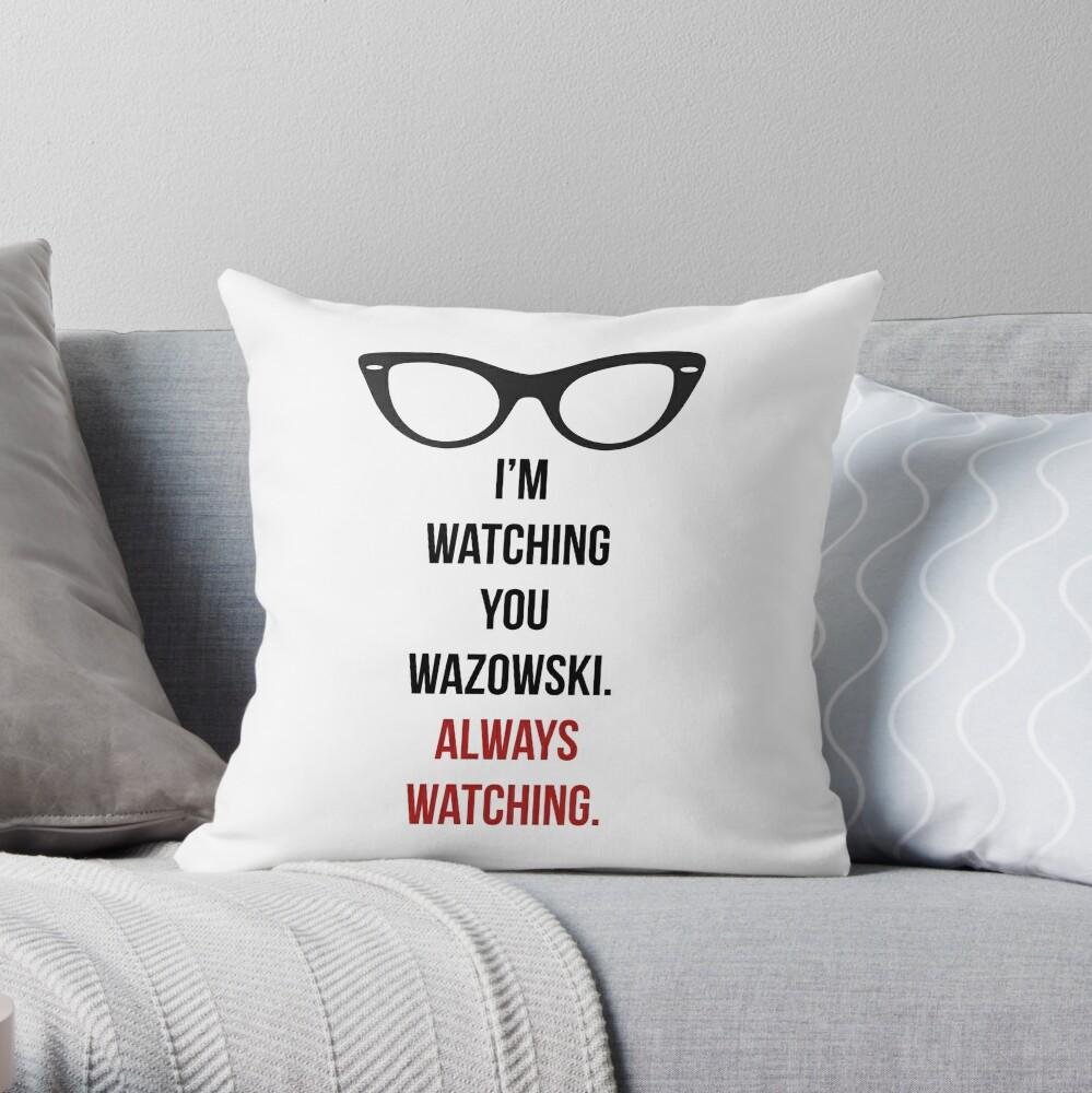 Te estoy vigilando Cojín