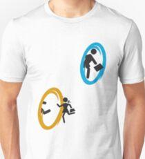 Danger! Portals approach (changeable colors, read description) T-Shirt