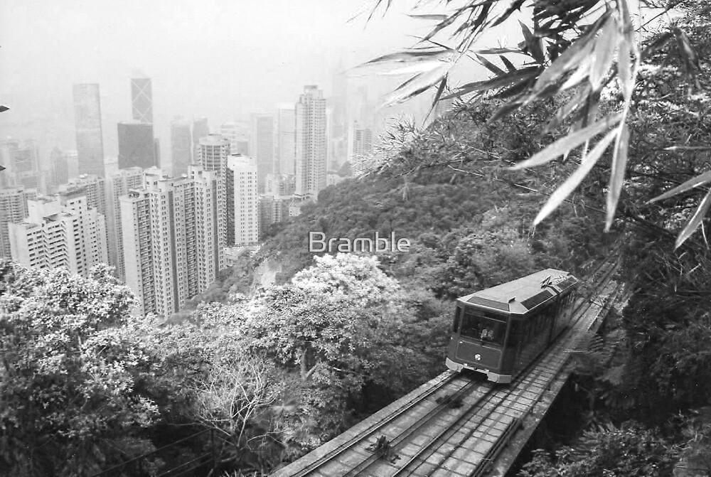 The Peak Tram, Hong Kong by Bramble