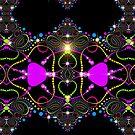 Blacklight Magic Love by webgrrl