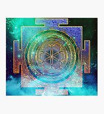 Yantra Mandala Magical Sky Photographic Print