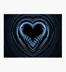 abstract heart Photographic Print